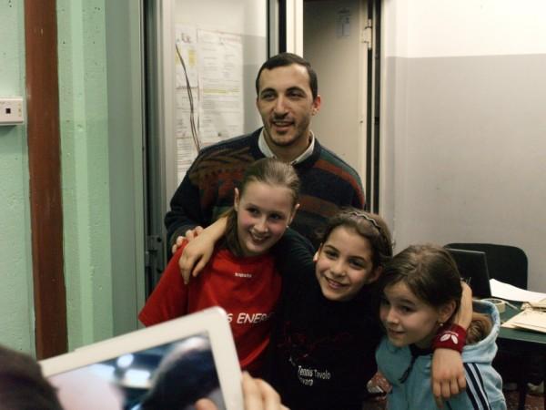 3^torn pred TO 9-3-13 la ragazze con l'istruttore Dario Indelicato