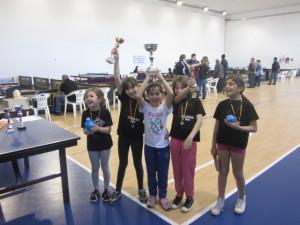 Ping Pong Kids regionale 18-05-2013 premiaz del sing femm under 14