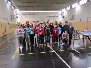 tennistavolo alla Pier Lombardo-3^C