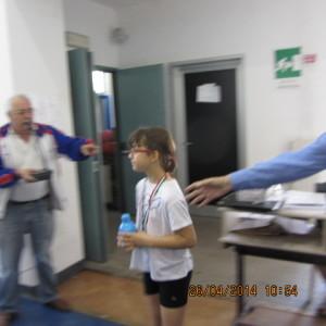Campionati prov.li FITeT 2014 Silvia Indelicato