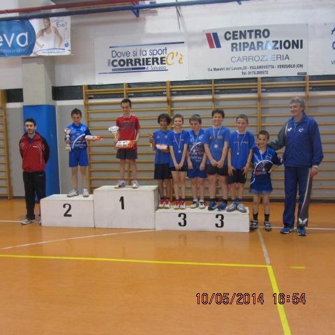 PPK-finali regionali a Verzuolo podio giov.m1 1