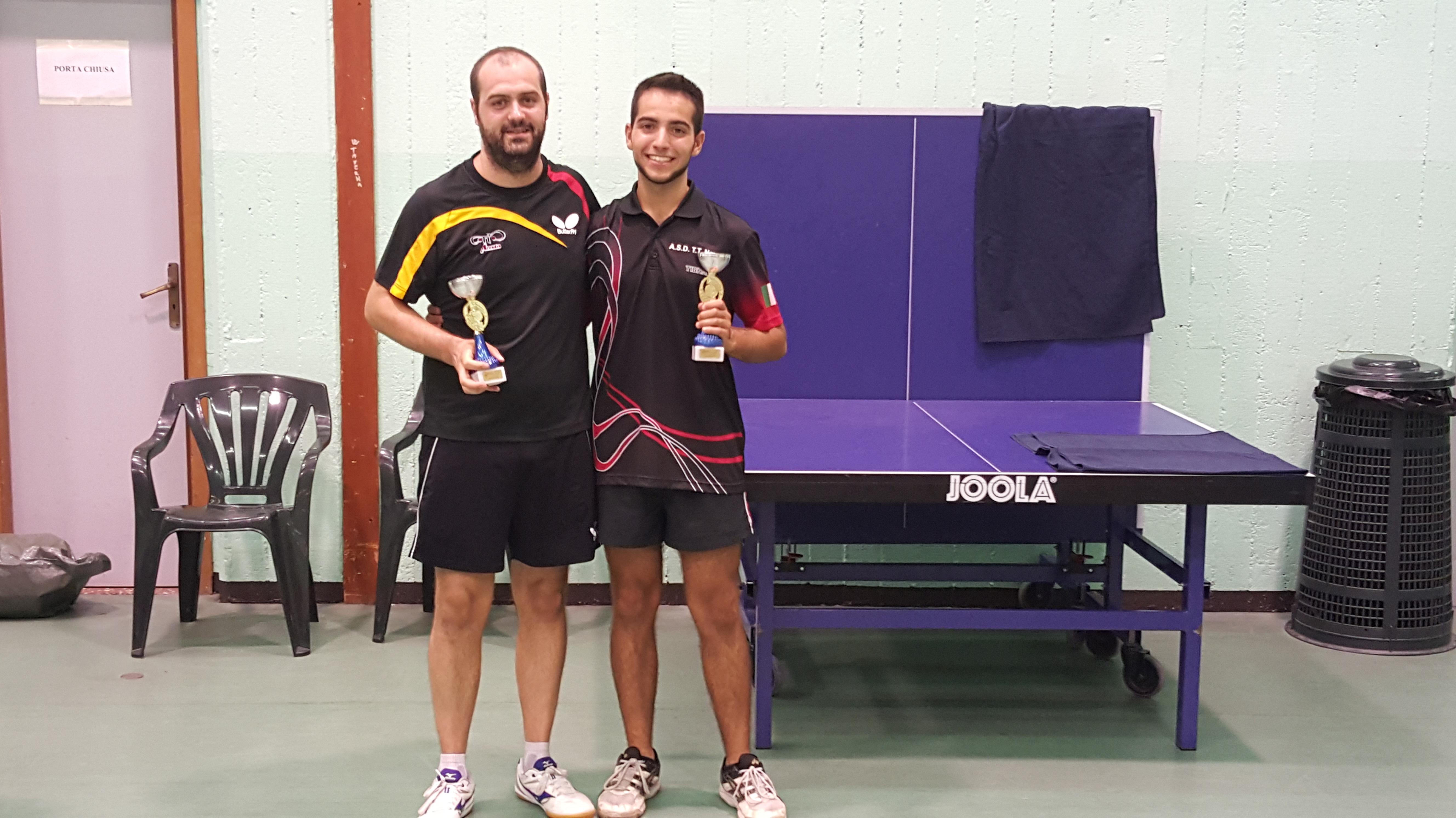 Albisino - Lucchini vincitori del doppio 5a