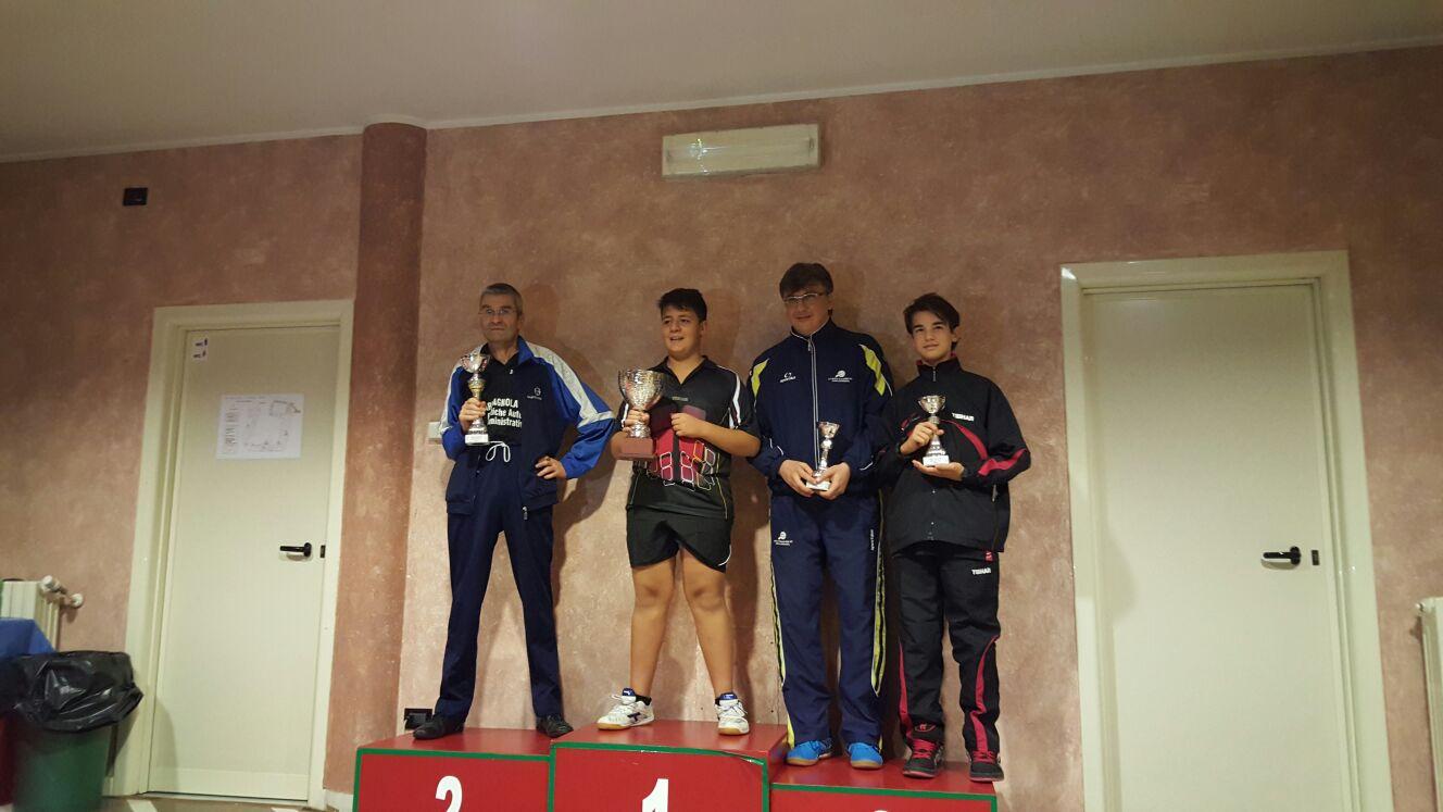 Ludovico sul podio a Biella