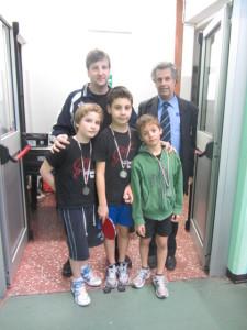 Camp reg giov squadre -Torino 10-3-2013 premiaz sq giovanissimi