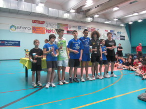 GRPX giov piem-5-5-2013 Moncalieri premiaz del Torneo insieme