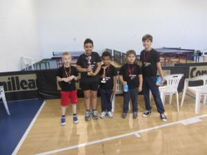 Ping Pong Kids regionale 18-05-2013 premiaz sing masch under 14