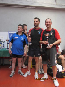 Ivrea Torneo Garbolino  16-6-13 2^ nel doppio