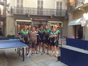 la squadra del TT. Romagnano a Varallo S.