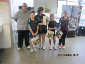 2^memorial Pasella-Novara premiazione femm 5a cat