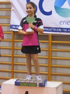 Verzuolo 23-2-14 Silvia Indelicato campionessa regionale giovanissime