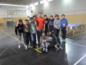 tennistavolo alla Pier Lombardo - 3^B maschile 3-2-2014