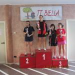 5^Torn. reg. pred. 3^4^5^ Cat- Biella 12-13 aprile 2014 podio 4^ cat femm