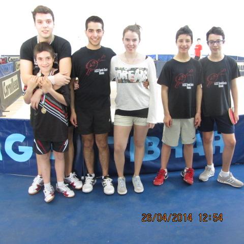 Campionati prov.li FITeT 2014 prem doppio giovanile