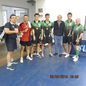Campionati prov.li FITeT 2014prem doppio assoluto