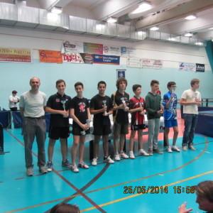 Crit fin GRPX 2^ ed  Moncalieri 25-05-2014 Premiaz jun masch (Marco Lucchini al centro)