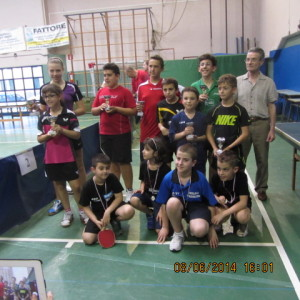 17^ torn int giov verbano-angera 8-6-2014 premiaz doppi under 13 A e B