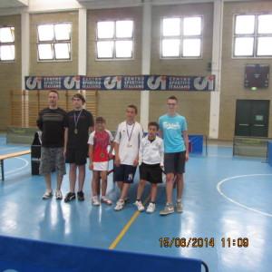 2^ Torneo La Zattera- Omegna - Gozzano Luca D'Addario e la premiazione under 14