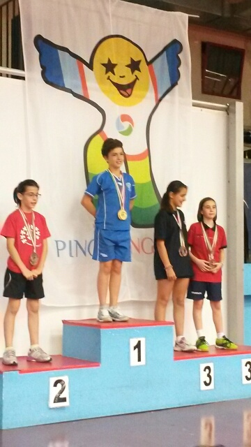 Andrea Giulia Ricupito sul podio ai nazionali del PPK