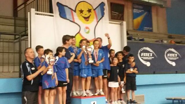 La squadra piemontese 1^ classificata ai nazionale PPK 2014