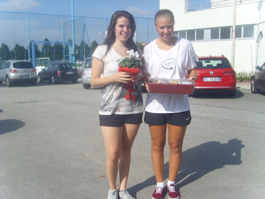 Alba 21-09-14 Alessia Contento e Martina Dromo (trainer)
