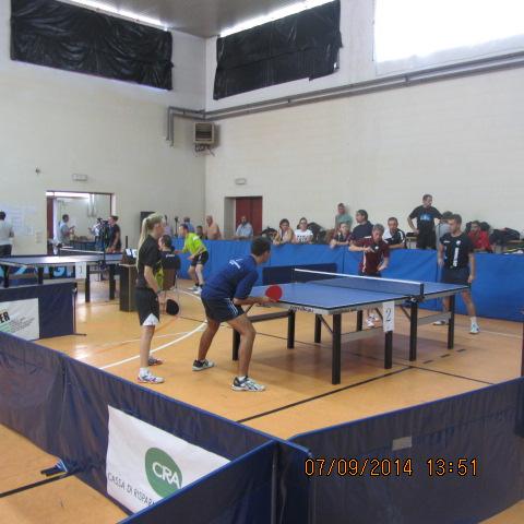 San Salvatore Monferrato 7-9-2014 Doppio Nino-Lucchini contro Margarone De Johannes