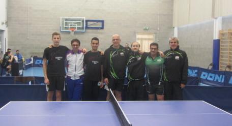 1^ giorn camp a sq 12-10-2014 D1-B squadre del TT NO e del Romagnano