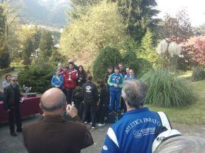 Angolo Terme -Trofeo delle Alpi 2015- foto di gruppo