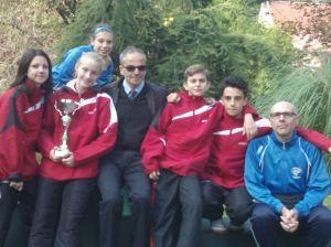 Angolo Terme- Trofeo delle Alpi- La squadra piemontese