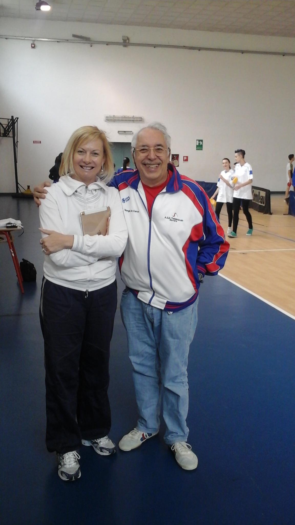 Alda Bonini e Giorgio De Cerce